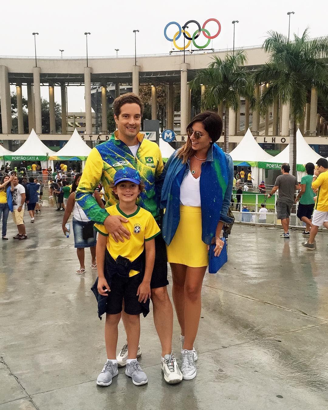 Família pé quente  #myboys #muitoamor #olympics #olimpiadas2016 #rio2016