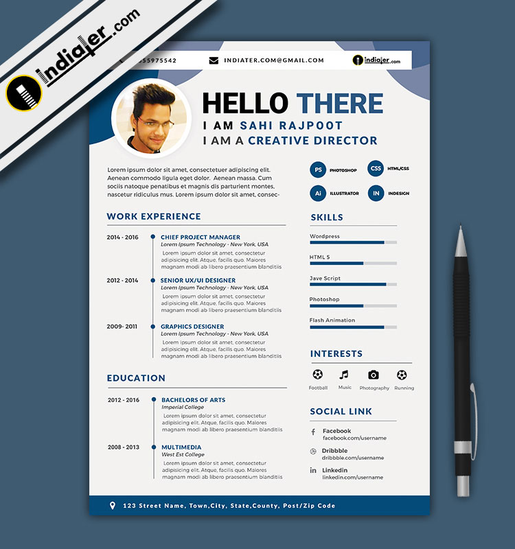 Cv Templates Docx Download (5 di 2020
