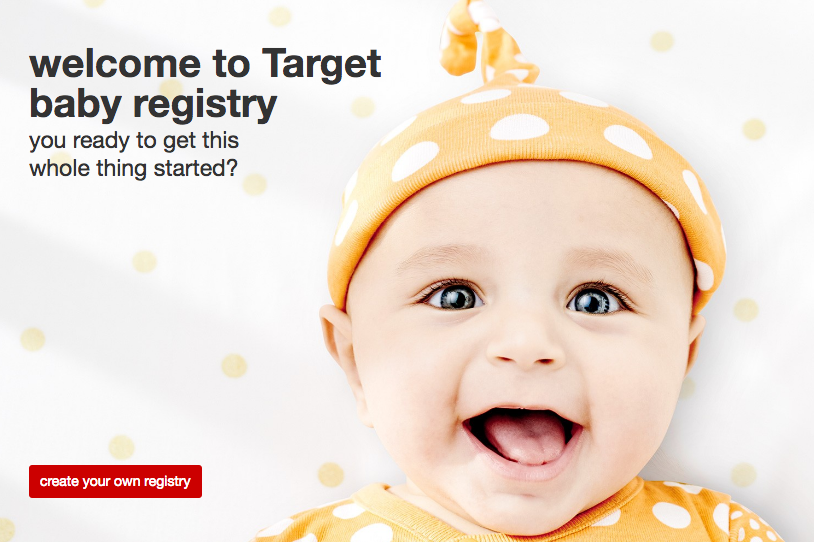 Target Create a Baby Registry, Get a 50 Gift