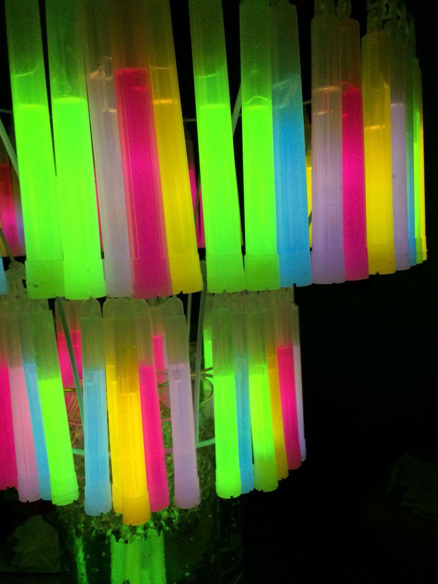 Glow Stick Chandelier Diy Glow Stick Party Glow Sticks Birthday Party For Teens