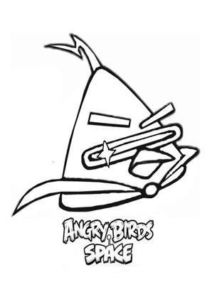 ausmalbild angry birds space 8 | angry birds, ausmalen, ausmalbilder