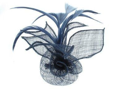 2c977b3c9962d GIZZY® Sinamay Flower and Leaf Shapes Fascinator GIZZY®, http://www ...