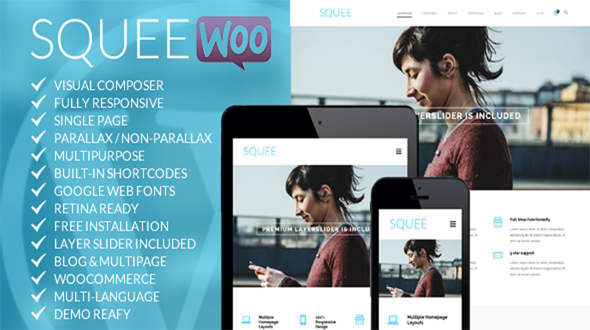 Theme Description:Squee Pre Theme Squee is a clean and professional ...