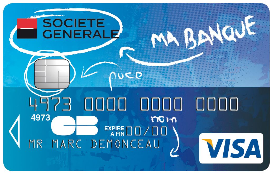 Carte Collection Visa Societegenerale Ma Banque Cartes
