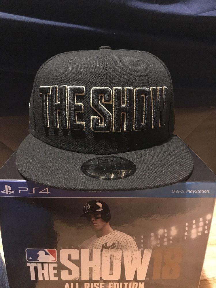 99363e93fb7 MLB 18 The Show Exclusive NEW ERA ALL RISE EDITION 9FIFTY HAT NEVER WORN   fashion  clothing  shoes  accessories  mensaccessories  hats (ebay link)