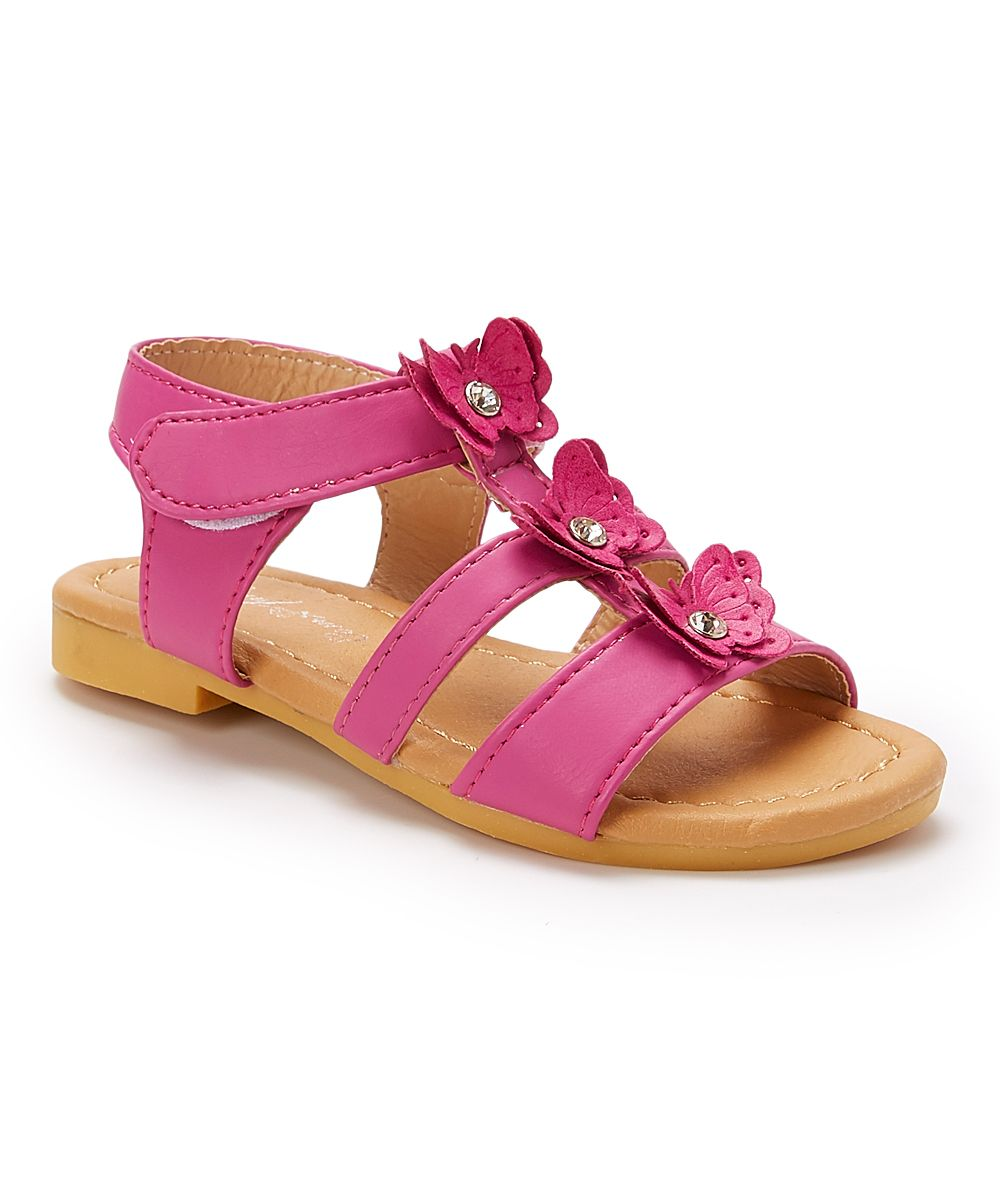 7793ff62 Fuchsia Butterfly Sandal | Products | Sandals, Shoes, Baby shoes