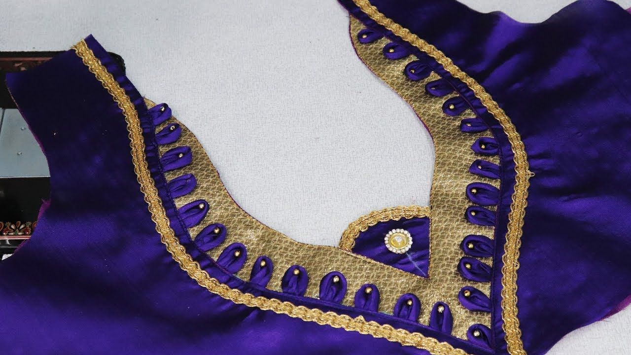 saree blouse cutting and stitching pdf