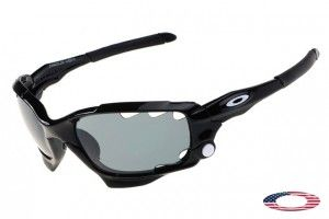 30c41b6540 Knockoff Oakley Racing Jacket sunglasses black   gray
