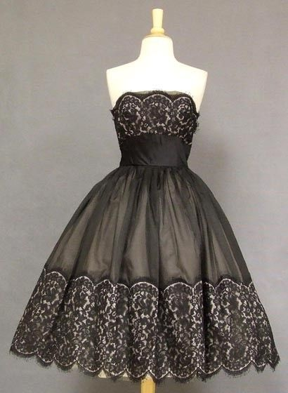 1950s cocktail dress