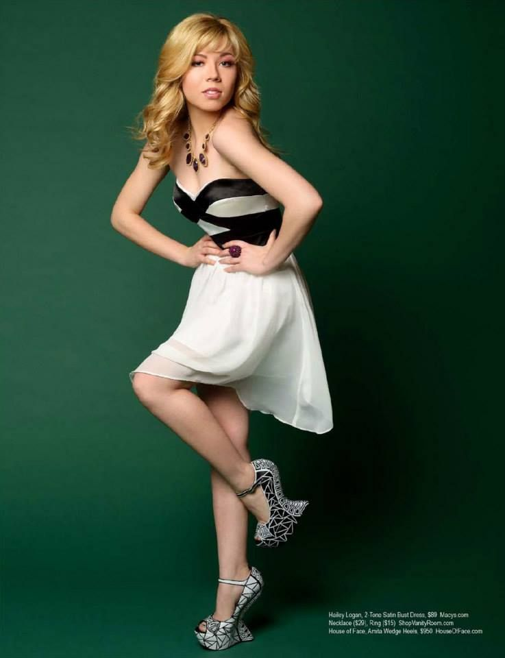Sexy Jennette Mccurdy Without Legs And Sexy Little Feet High Heel Did Tha