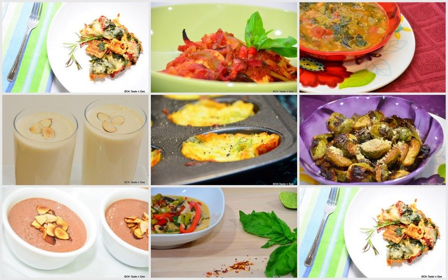 An Index of Vegetarian Friendly South Beach Diet Recipes
