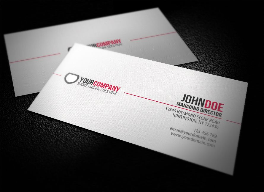 Simple Professional Business Card by ~glenngoh on deviantART http ...