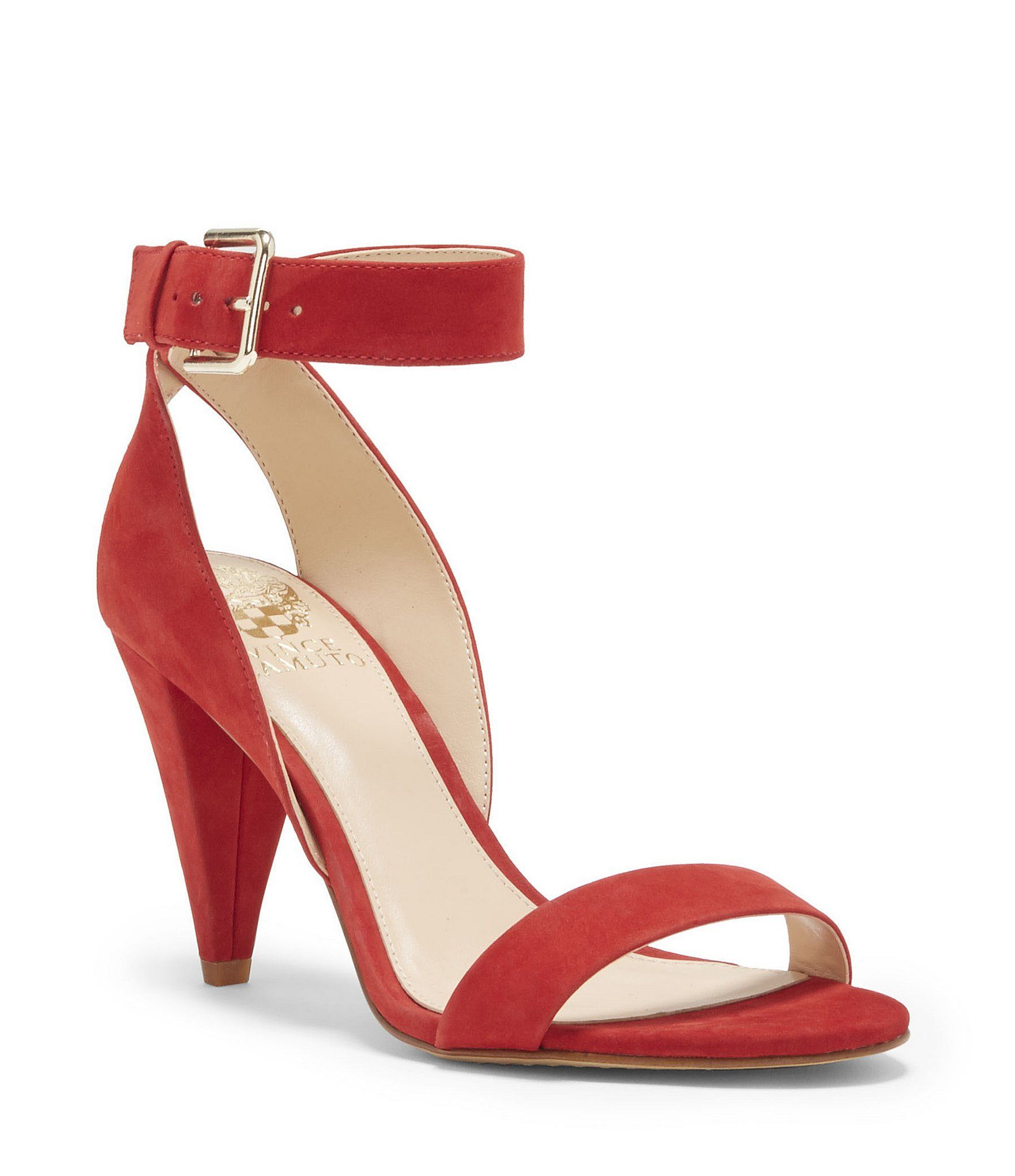 Shop For Vince Camuto Caitriona Suede Nubuck Buckle Ankle