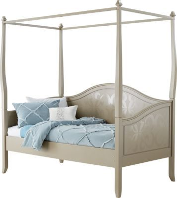 Belle Noir Champagne 3 Pc Canopy Daybed X X Find Affordable Twin Beds For  Your Home That Will Complement The Rest Of Your Furniture.