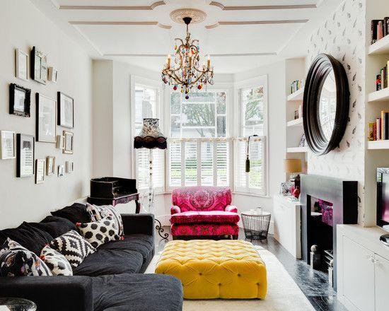 Wohnzimmer Designs Interior Design Trends 2017: Retro Wohnzimmer ...