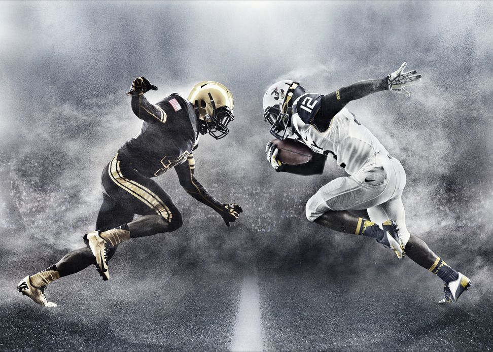 Army And Navy To Take The Field With New Uniform Designs This Weekend Navy Football Army Navy Football Army Vs Navy