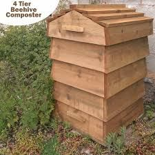 image result for diy beehive compost bin