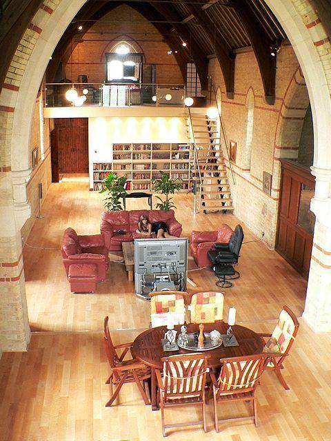 Living In A Church : living, church, Church, House, Gallery, Conversions,, Design,, Unusual, Homes
