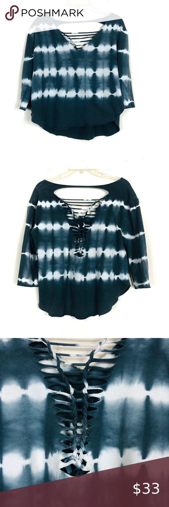 Urban Outfitters Tie Dye Lace Up Sweatshirt Urban Outfitters Staring At Stars Tie Dye Lace Up Raw H Sweaters For Women Clothes Design Urban Outfitters Sweaters [ 1740 x 580 Pixel ]