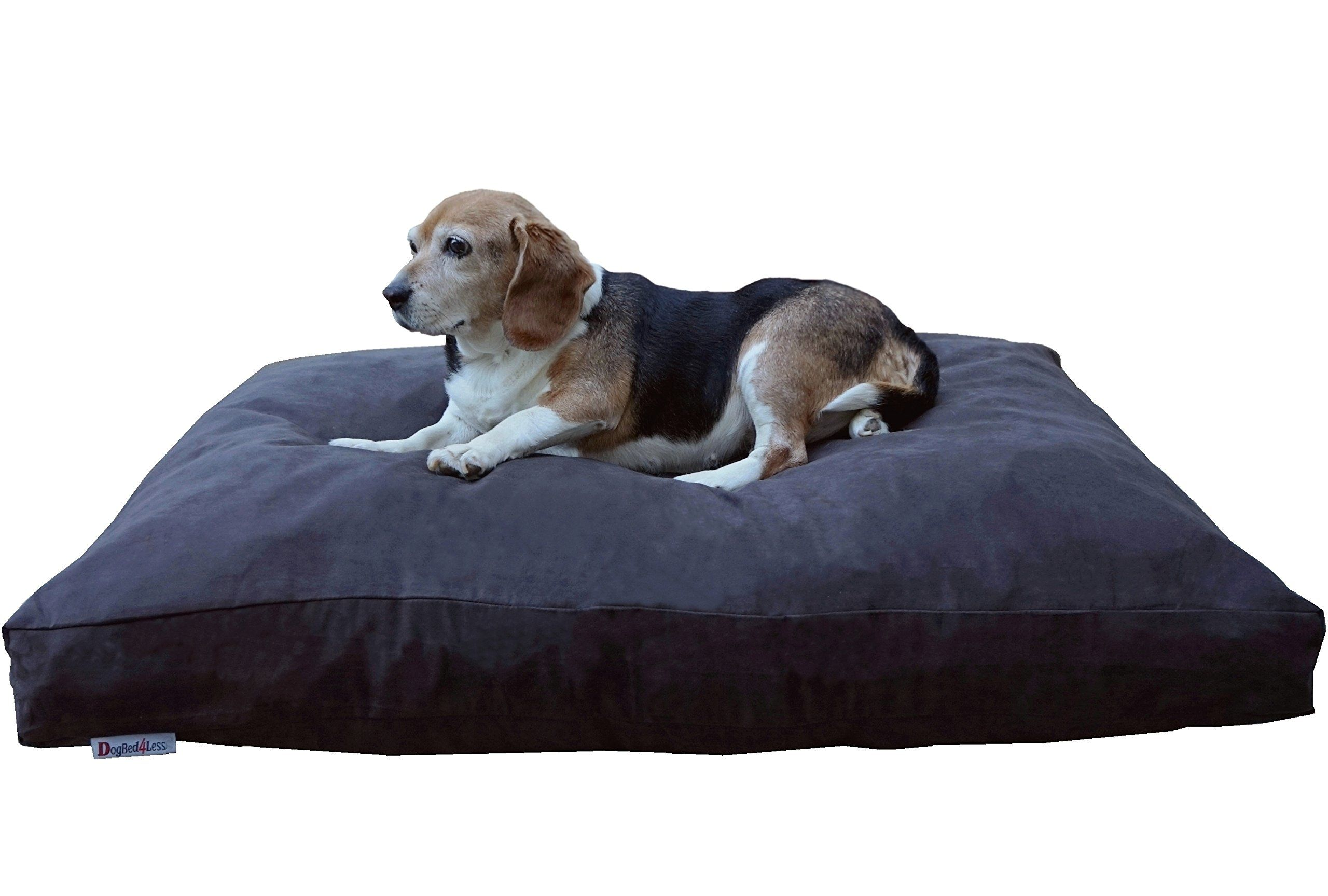 and pin bed dog with memory bottom luxury large beds plus antimicrobial pillow foam thick x orthopedic waterproof antislip liner