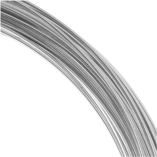 Beadalon 16 Gauge Round Wire 175 Meter 574 Foot Coil Stainless Steel