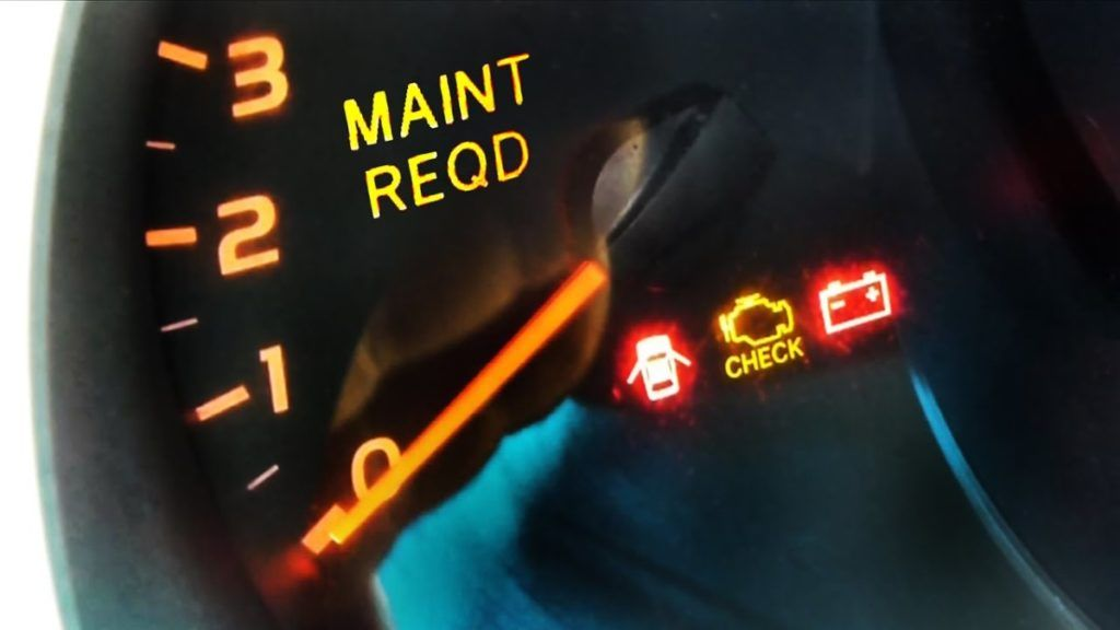 Maintenance Required Light On Toyota Toyota, Camry