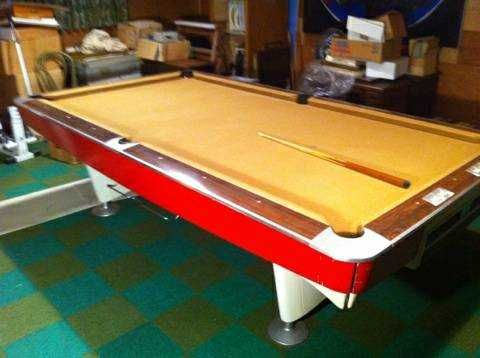 Mid Century Brunswick Pool Table Google Search Club