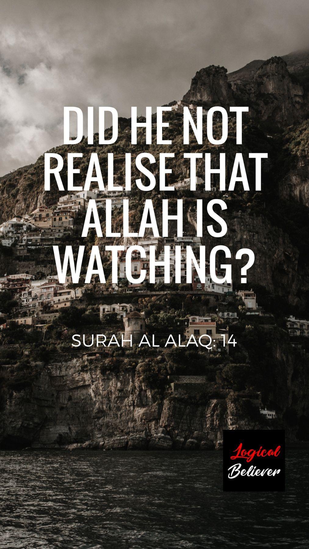 Download 900+ Wallpaper Allah Is Watching HD