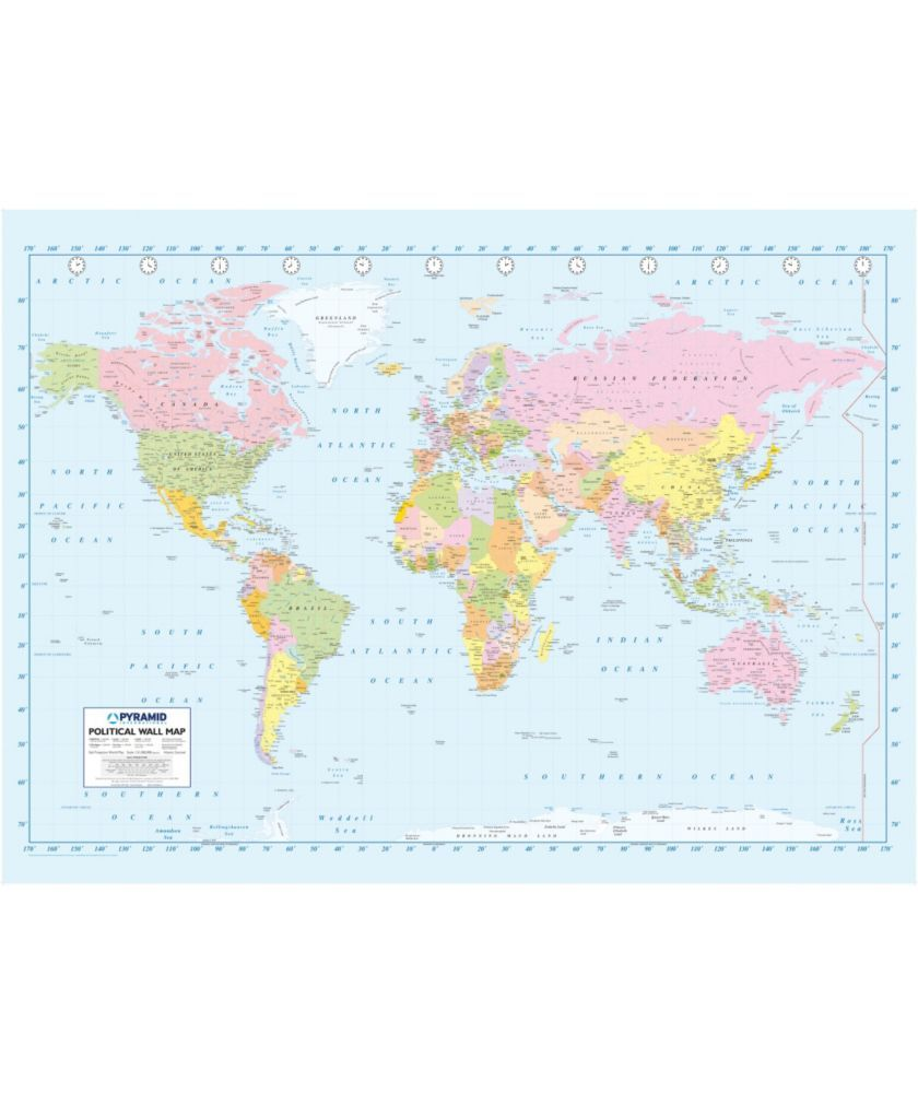 Buy 1wall map of the world wallpaper mural at argos your buy 1wall map of the world wallpaper mural at argos your gumiabroncs Choice Image