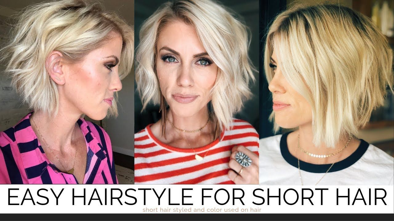 Cute short hairstyles for girls and women of all ages this short