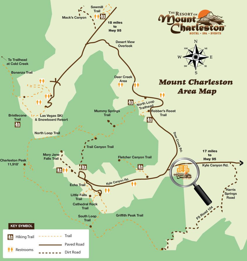 Click here to View a Mount Charleston Hiking Trail Map | Hiking in on kyle canyon picnic area, water park splash canyon las vegas, fire canyon las vegas, kyle canyon visitor center, kyle canyon nevada, aurora canyon las vegas, carpenter canyon las vegas, grand canyon village las vegas, kyle canyon road conditions, kyle canyon mount charleston, lovell canyon las vegas, kyle canyon fire, kyle canyon flooding,