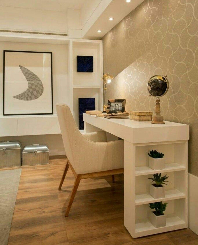 Mesa de escritorio funcional papel pintado pinterest for Pintado de salas pequenas