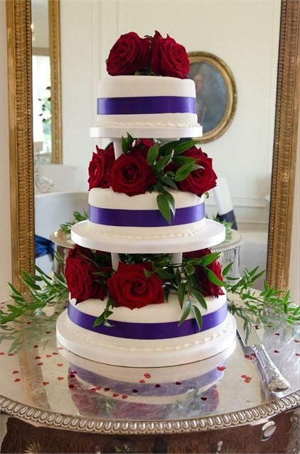Love The Colour Combo And The Simplicity Of It Wedding Cake