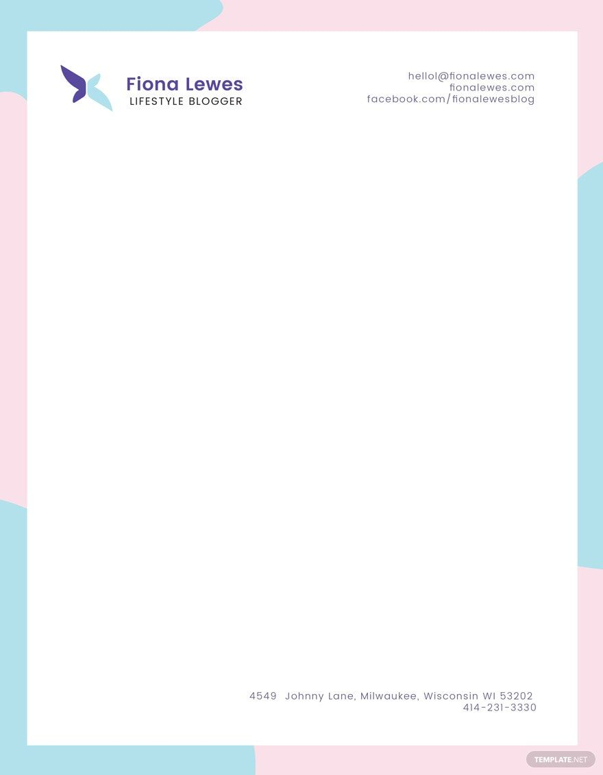 Personal Letterhead Template Free Jpg Illustrator Word Apple Pages Psd Pdf Publisher Template Net Letterhead Template Letterhead Business Business Cards Creative Personal letterhead templates free download