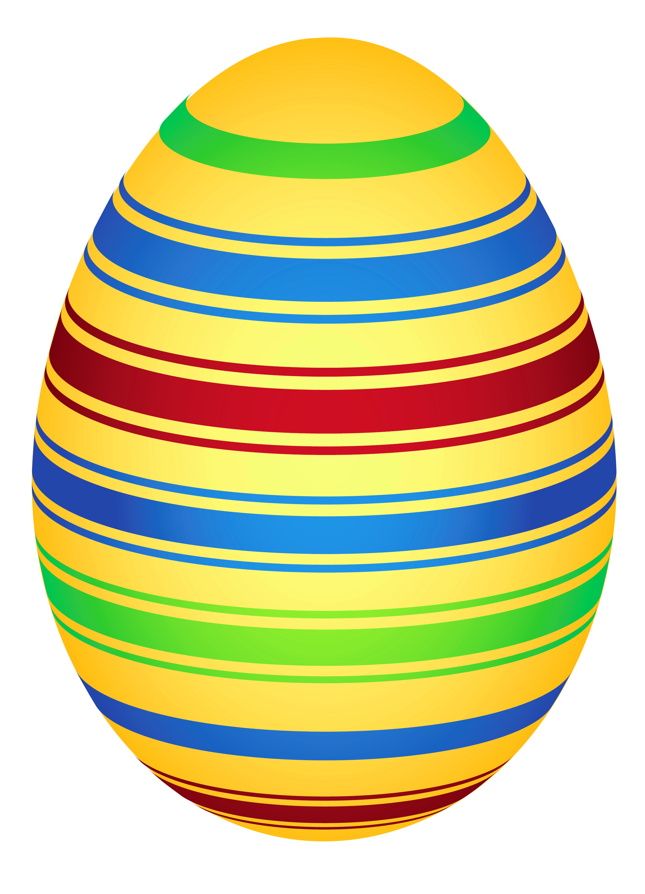 Yellow Colorful Easter Egg Png Clipairt Picture Easter Prints Coloring Easter Eggs Easter Colors