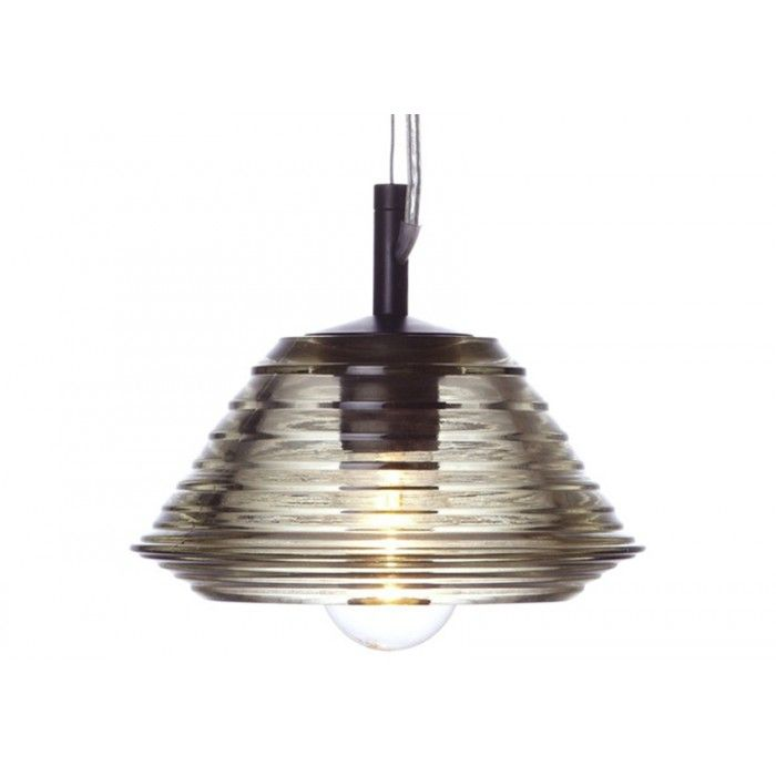 Tom dixon pressed glass light bowl pendant