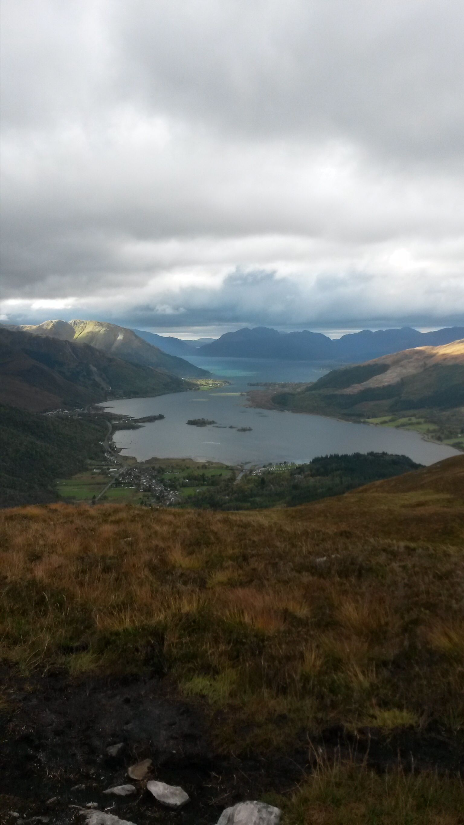 View from the pap of Glencoe