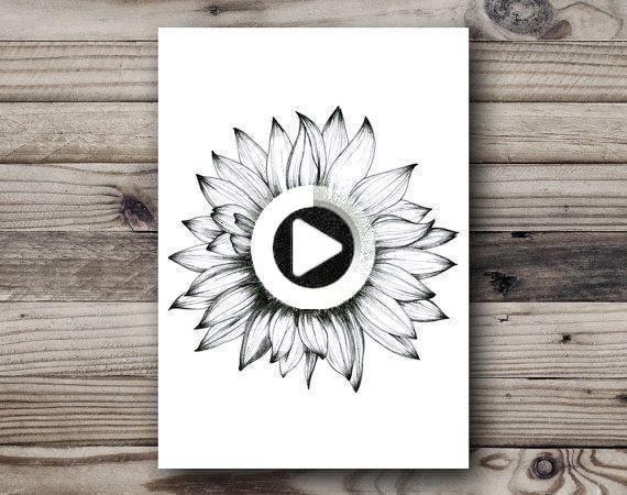Pin on sunflower tattoos