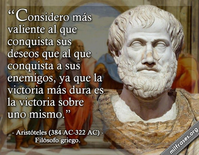 Aristóteles Filósofo Griego Frases De Aristoteles
