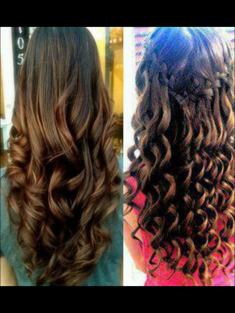 Curly hair hair styles pinterest curly hair style and party