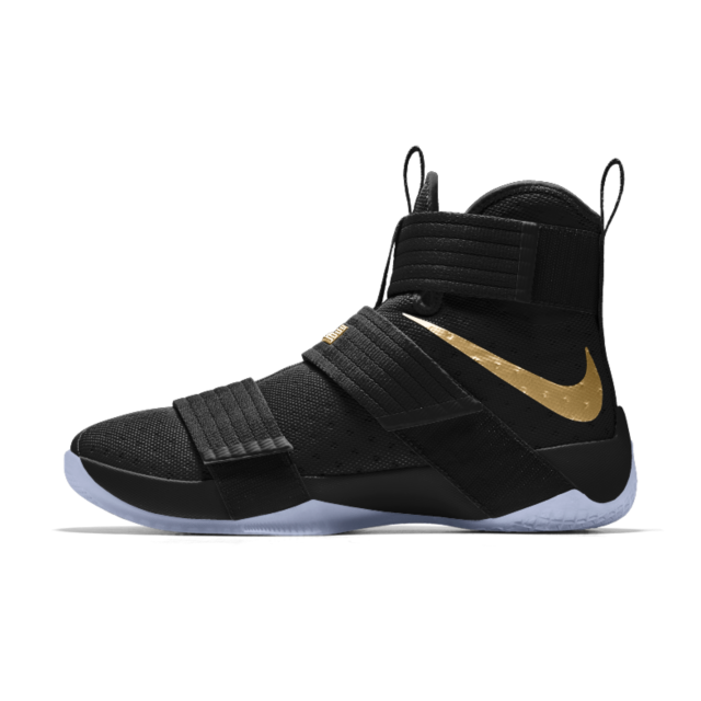 designer fashion face2 6586a Nike Zoom LeBron Soldier 10 iD Men s Basketball Shoe