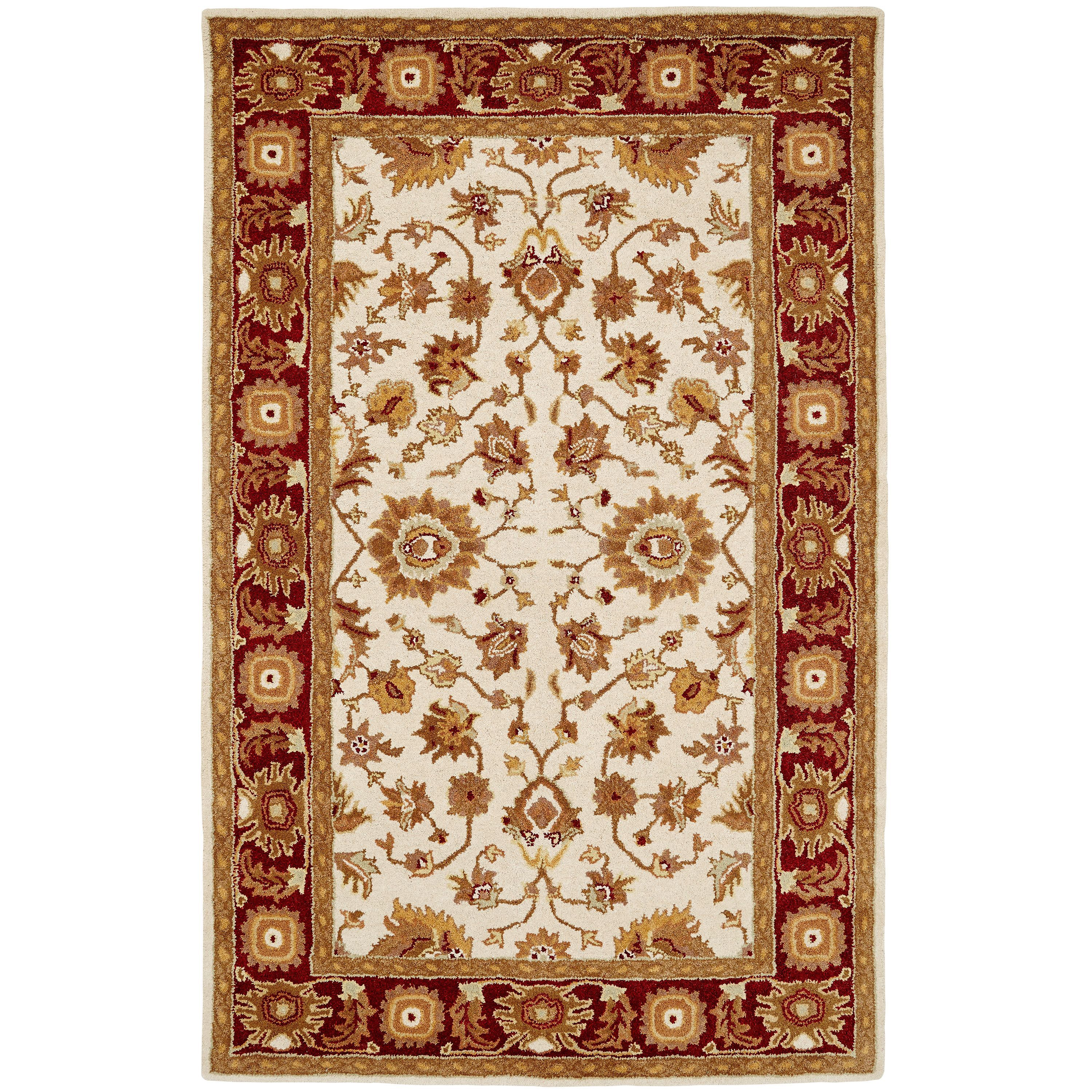 Dynamic Rugs Paragon / Red Rug