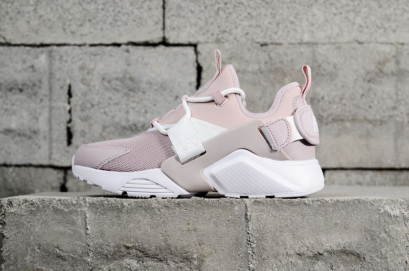 quality design 11463 758be 2018 Popular Nike Air Huarache City Low Pink White 2018 Womens Running  Shoes Sneakers AH6804-600