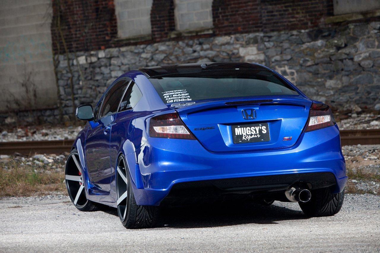Honda Civic Si Dlya Sema Ot Fox Marketing Honda Civic Si Honda Accord Coupe Honda Civic