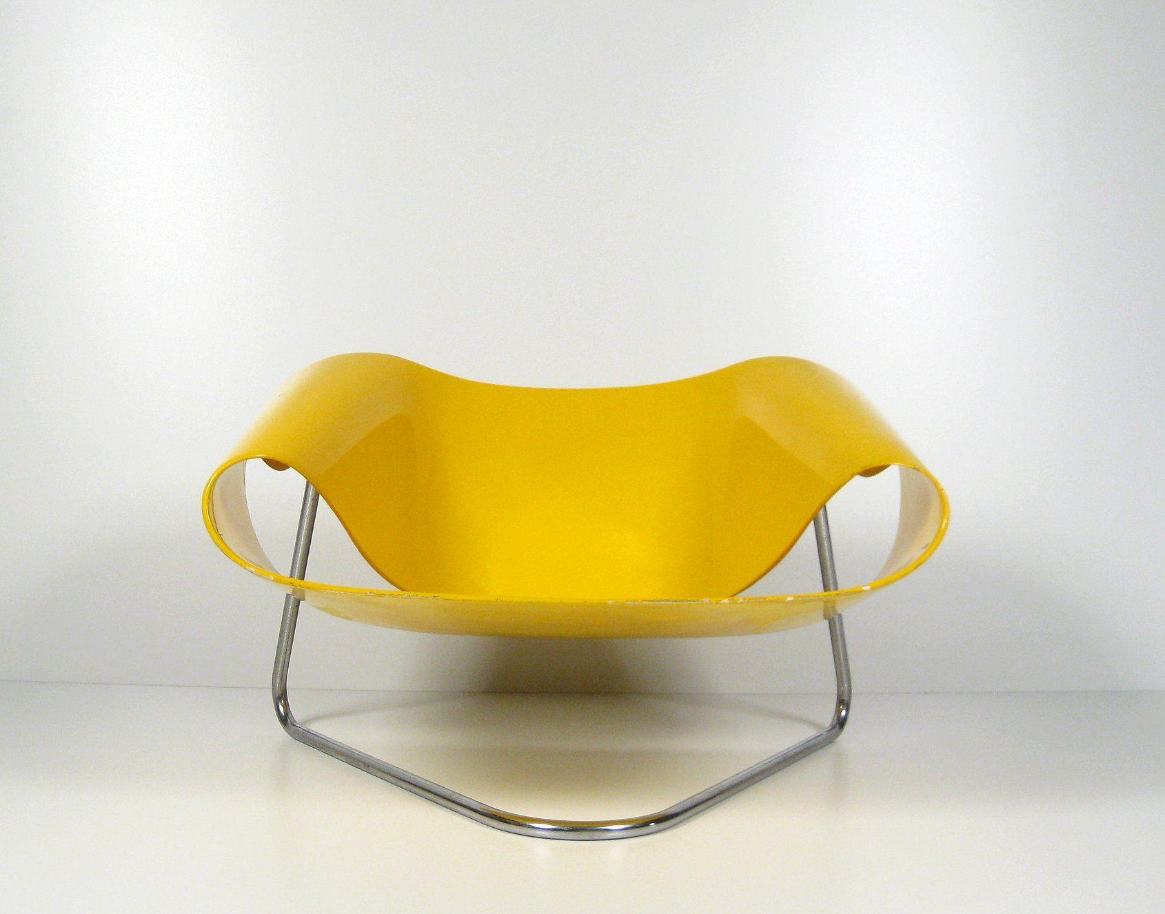 Cesare leonardi franca stagi armchair ribbon cl9 for - Modernes mobeldesign ...