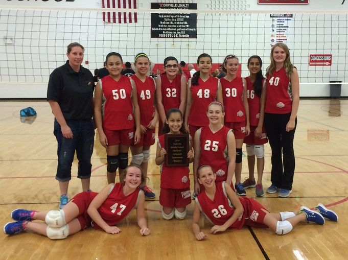 Congratulations To The Pkms 7th Grade Volleyball B Team The Team Traveled To The Yorkville B Team Tournament On S Championship Game The Championship Yorkville