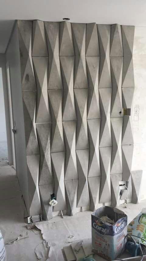 Concrete Element Passage Deco Garden Design Feature Wall Design Interior Wall Design Wall Design