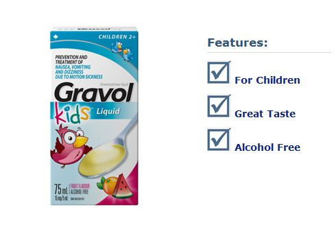 GRAVOL® Children Liquid | newworthy | Alcohol free, Children