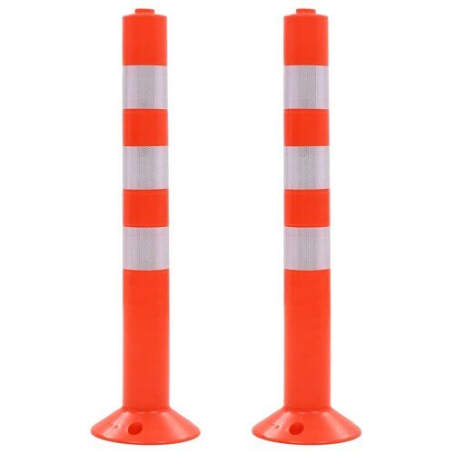 Symple Stuff Husted Plastic Traffic Control Bollard | Wayfair.co.uk