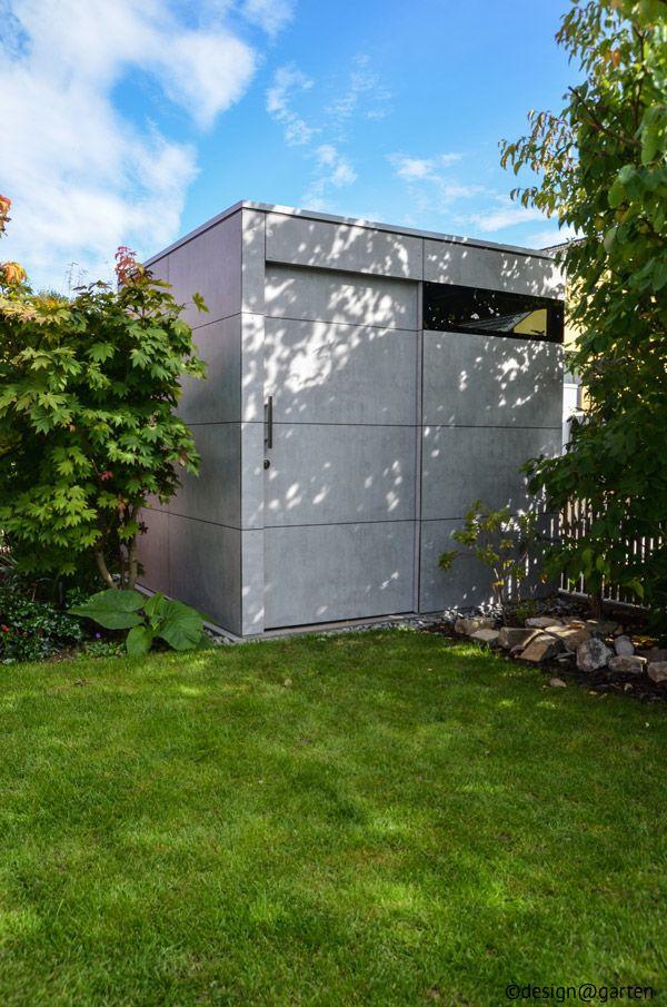 design gartenhaus sichtbeton - Fantastisch Moderne Gartenhuser